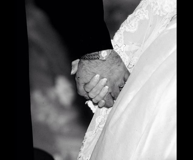 Le 17 décembre 2015, Célion Dion et son mari René Angélil fêtent leur 21 ans de mariage / photo postée sur le compte Instagram de la chanteuse canadienne.