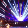 Loic Nottet et Denitsa Ikonomova lors de la finale de Danse avec les stars 6, sur TF1, le mercredi 23 décembre 2015