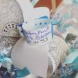 Aurélie Van Daelen a donné naissance à son fils. Elle dévoile son prénom très tendance. Le 4 janvier 2016.