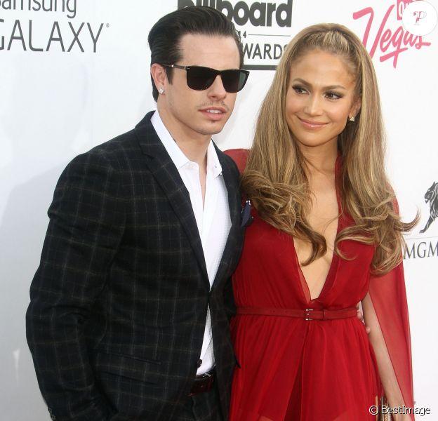"Jennifer Lopez, Casper Smart - Soirée des ""Billboard Music Awards"" à Las Vegas le 18 mai 2014."