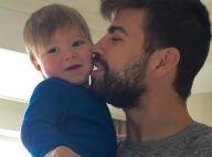 """Shakira, maman gaga : La photo de Sasha et Gerard Piqué qui l'a fait """"fondre""""..."""