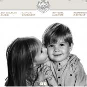 Vincent et Josephine de Danemark ont 5 ans : Petit bisou et grands sourires