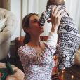 Kristin Cavallari fête le premier Noël de sa fille Saylor / Photo postée sur le compte Instagram de l'ancienne star de Laguna Beach, au mois de décembre 2015.