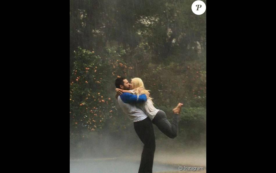 Christina Aguilera et Matt, sur Instagram, le 6 janvier 2016