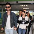 Cheryl Cole et son mari Jean-Bernard Fernandez-Versini quittent Cannes, le 16 mai 2015