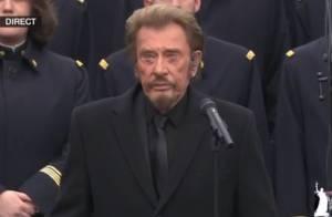 Hommage à Paris : Johnny Hallyday chante pour les victimes des attentats