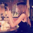 Nabilla et Thomas ont passé le Nouvel An en amoureux à Barcelone (Espagne). Décembre 2015.