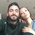 """""""Nabilla et Thomas ont passé le Nouvel An en amoureux à Barcelone. Décembre 2015."""""""