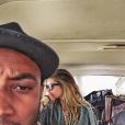 """""""Doutzen Kroes, Sunnery James et leur fils Phyllon ont passé des vacances inoubliables en Afrique (Népal et Kenya)."""""""