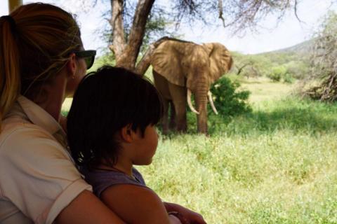 Doutzen Kroes : Voyage en Afrique avec les deux hommes de sa vie