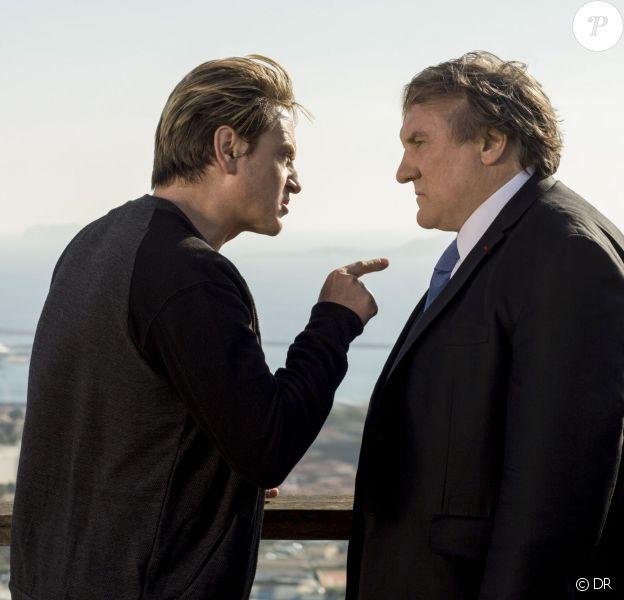 Image de la série Netflix avec Gérard Depardieu et Benoît Magimel
