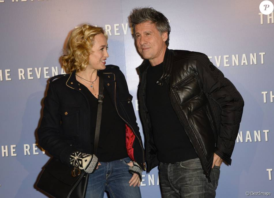 H l ne de fougerolles et son compagnon marc simoncini avant premi re du film the revenant au - Helene darroze et son mari ...