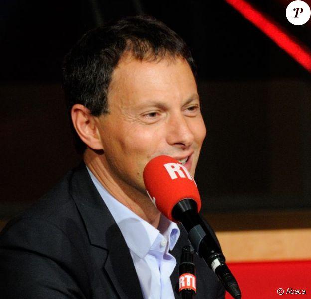 Marc-Olivier Fogiel au micro de RTL en septembre 2014.