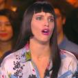 """Erika Moulet moquée pour sa nouvelle coupe de cheveux. Emission """"Touche pas à mon poste"""" sur D8, le 20 janvier 2015."""