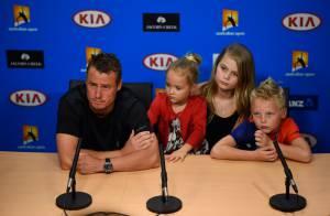 Lleyton Hewitt : Émouvants adieux du guerrier australien, entouré de ses enfants