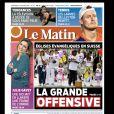 """""""Le Matin"""" du 22 janvier 2016."""