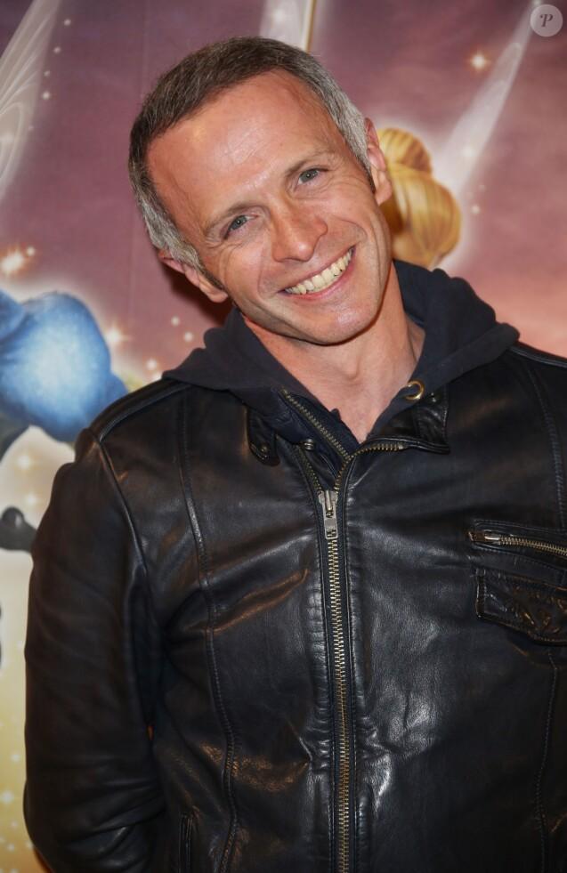 Samuel Etienne au Gaumont Marignan sur les Champs-Elysées à Paris, le 25 mars 2014.