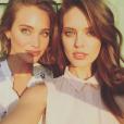 Hannah Davis et Emily DiDonato en shooting à Honolulu, à Hawaï. Janvier 2015.