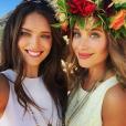 Emily DiDonato et Hannah Davis à Honolulu, à Hawaï. Janvier 2015.