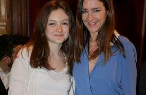 Emmanuelle Boidron : Sortie mode avec sa fille Leïa pour la Fashion Week