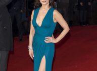 Catherine Zeta-Jones, 46 ans: Décolleté, robe fendue... La bombe irradie en solo