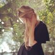 Briana Jungwirth enceinte du bébé de Louis Tomlinson a publié une photo d'elle sur sa page Instagram, au mois de janvier 2016.