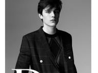 Alain-Fabien Delon : Le fils d'Alain Delon pose pour Dior Homme