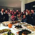 Chris Martin et Gwyneth Paltrow réunis en famille pour Thanksgiving. (photo postée le 27 novembre 2015).