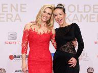 Michelle Hunziker et sa fille Aurora : Sublimes devant une Helen Mirren à terre
