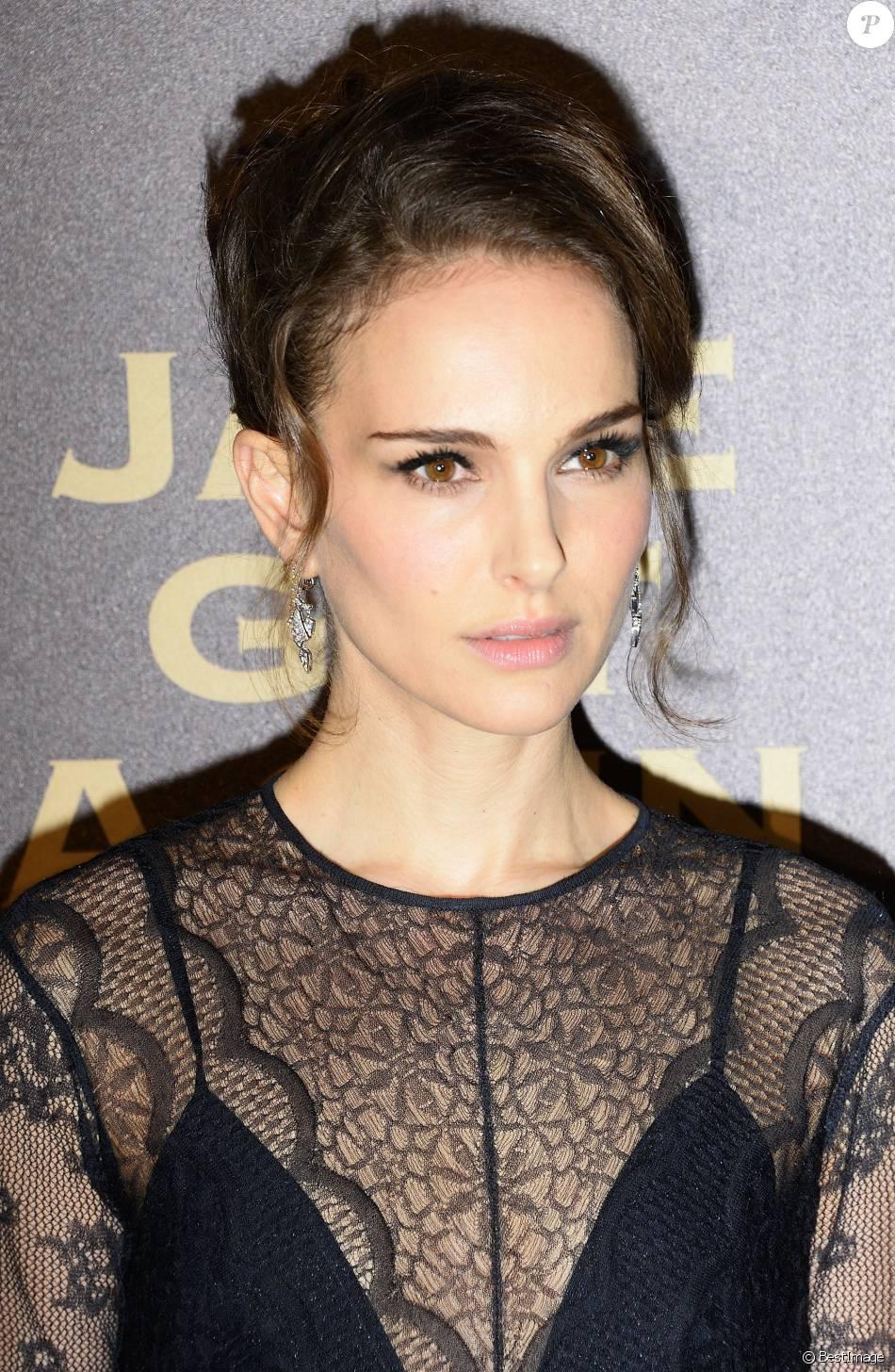 """Natalie Portman - Avant première du film """"Jane got a gun"""" au cinéma UGC Normandie à Paris le 24 janvier 2016."""