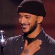 Slimane dans The Voice 5, le samedi 6 février 2016, sur TF1