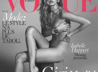 Gigi Hadid : Canon en tenue d'Eve pour Vogue Paris