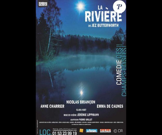 Affiche de la pièce La Rivière