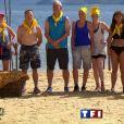 """Les équipes sont formées, voici l'équipe jaune - """"Koh-Lanta 2016"""", sur TF1. Le 12 février 2016."""