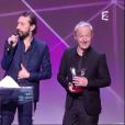 Les Innoncents remportent la victoire de l'album rock - Victoires de la musique au Zénith de Paris, le 12 février 2016.