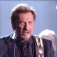 Johnny Hallyday - Victoires de la musique au Zénith de Paris, le 12 février 2016.