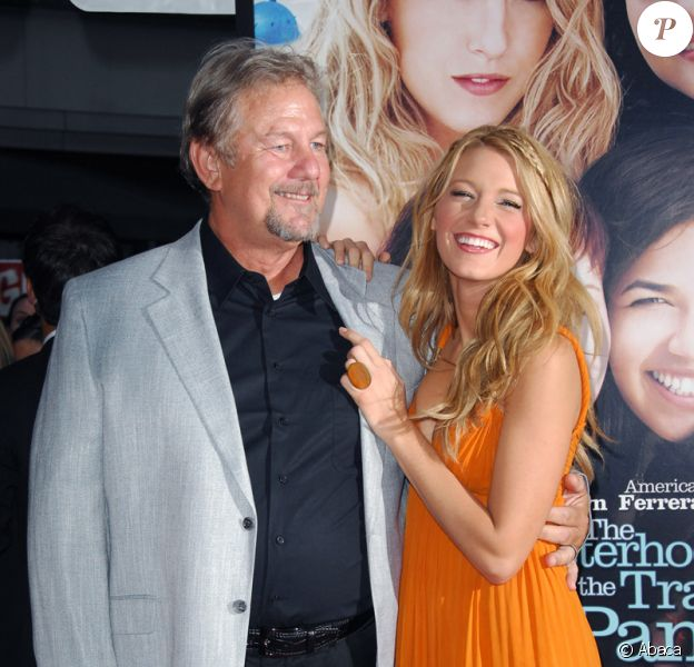 Blake Lively et son père Ernie