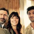 Laetitia Milot : selfie sur le tournage de La Vengeance aux yeux clairs (TF1)