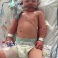 Sami, le fils de Matt Dawson, victime d'une méningite - Photo publiée le 17 février 2016