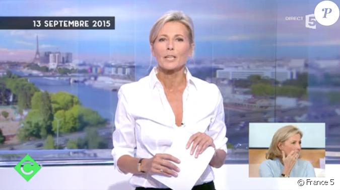 La journaliste claire chazal mue de revoir les images de ses adieux au journal de tf1 - Emission cuisine france 5 ...
