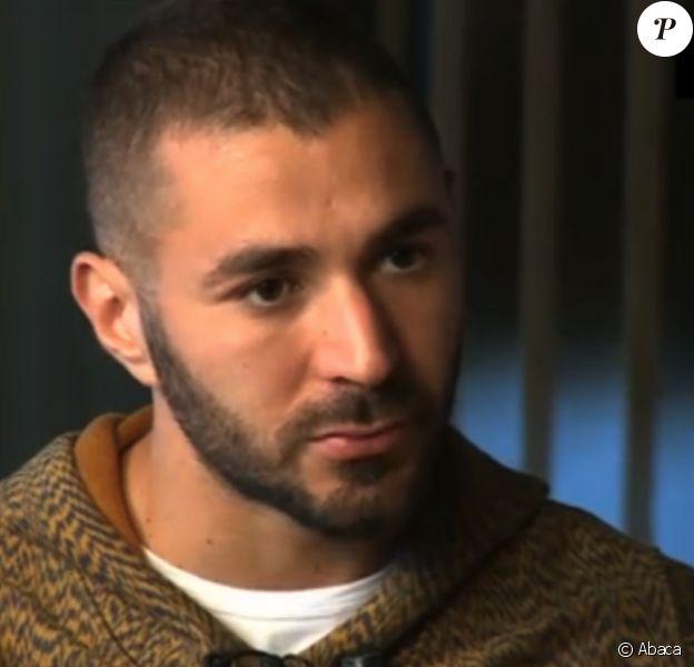 Karim Benzema en interview sur TF1 le 2 décembre 2015 au JT de 20H