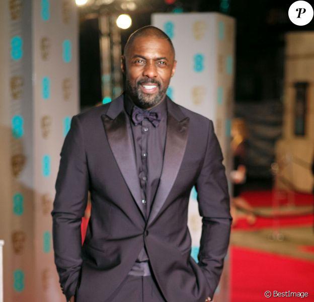 Idris Elba - 69e cérémonie des British Academy Film Awards (BAFTA) à Londres, le 14 février 2016.