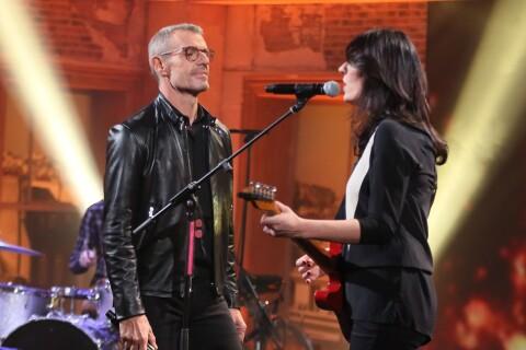 Lambert Wilson : Moment de communion avec La Grande Sophie chez Dave