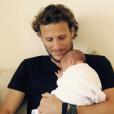 Diego Forlan et son fils Martin - février 2016