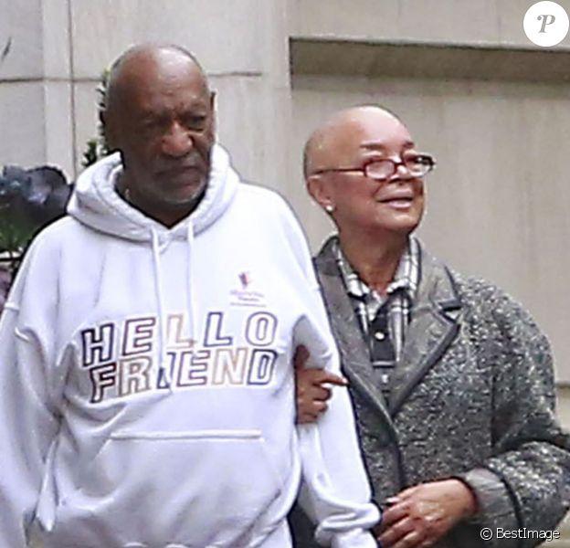 Exclusif - Bill Cosby et son épouse Camille à Boston le 22 novembre 2015