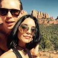 Vanessa Hudgens et son petit-ami Austin Butler passent la Saint-Valentin dans l'Arizona. Vidéo publiée sur Instagram, le 15 février 2016.