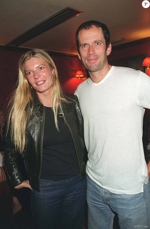 Chiara Mastroianni et Christian Vadim chez Castel en 2001