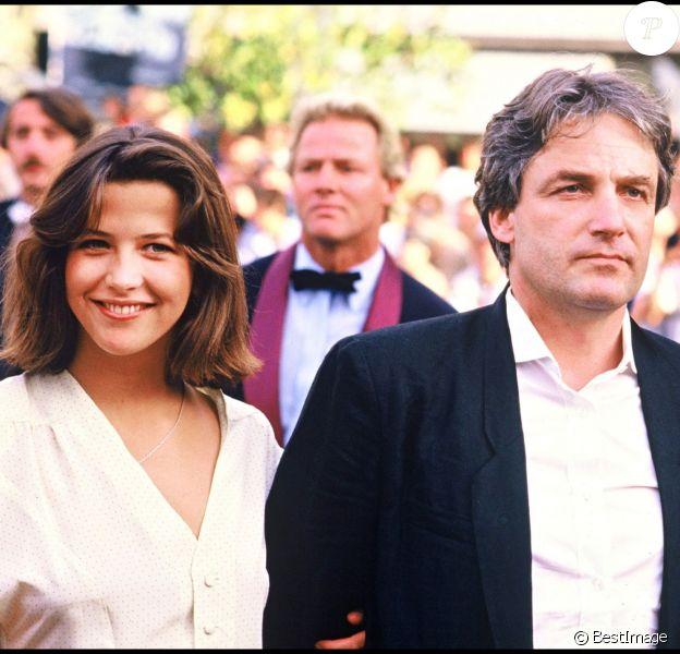 Sophie Marceau etAndrzej Zulawski à Cannes en 1985.