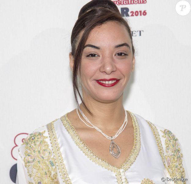 Loubna Abidar - Soirée des Révélations César 2016 dans les salons de la maison Chaumet place Vendôme à Paris, le 11 janvier 2016.