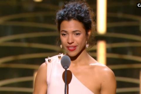 "César 2016 : Zita Hanrot, meilleur espoir féminin émue pour ""Fatima"""